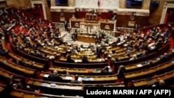 Vista general de la Asamblea Nacional de Francia. Foto Ludovic MARIN / AFP