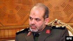 El ministro iraní de Defensa, Ahmad Vahidi