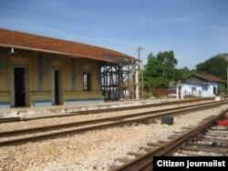 Reporta Cuba. Estación de trenes de Madruga. Foto: Jotache Feria.