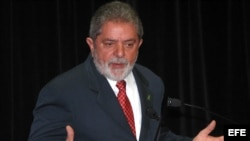 Ex presidente de Brasil, Inacio Lula da Silva.
