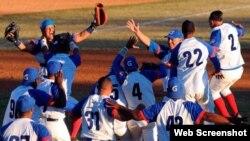 Alazanes vencen a Leñadores enla Serie nacional de Béisbol, Cuba 2018.