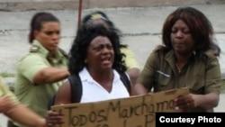 Líder de Damas de Blanco denuncia amenazas durante detenciones