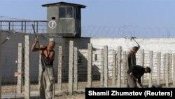 "Jaslyk, la ""Casa de Tortura"", penal emblemático de la dictadura Karimov (Reuters / Shamil Zhumatov)."