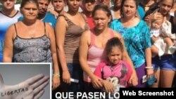 """Reporta Cuba. Imagen de la página de Facebook """"Que pasen los cubanos""""."""