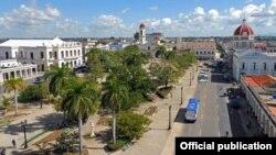 Vista de la ciudad de Cienfuegos.