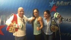 1800 Online con hermosa boliviana bicampeona mundial de boxeo Jenifer Salinas.