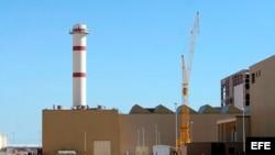 Una planta del programa nuclear iraní.