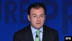 El secretario de Hacienda de México, Luis Videgaray.