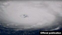 Huracán Irma (Atlantic Ocean) NASA.