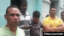 Reporta Cuba. Plantón por la libertad de activista.