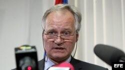 Christian Leffler, director general para las Américas del Servicio Europeo de Acción Exterior (SEAE). Archivo.