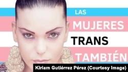Kiriam Gutiérrez Pérez, mujer transexual de Cuba.