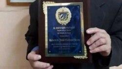 Antes de ir a prisión recibió el Premio Patmos 2019