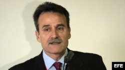El subdirector para EEUU de la Cancillería cubana, Gustavo Machín.