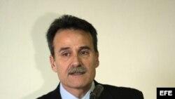 El subdirector para EE.UU. de la Cancillería cubana, Gustavo Machín.