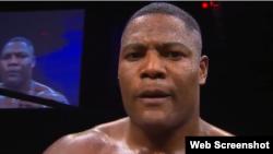 El boxeador cubano Luis Ortiz.