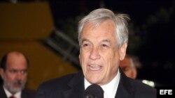 El presidente chileno, Sebastián Piñera. Archivo