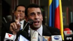 Foto de archivo de Henrique Capriles.