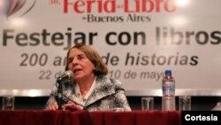 Hilda Molina presenta libro en Argentina