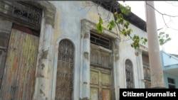 Reporta Cuba Casa en Avenida Camilo Cienfuegos en Guantánamo Foto Yoanny Beltrán residente en esa localidad.