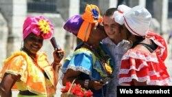 Turismo ruso en Cuba. Foto Archivo.