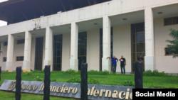 Sede del Banco Financiero Internacional (BFI) en Miramar, Habana