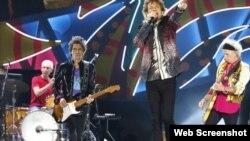 Banda de rock Rolling Stones.
