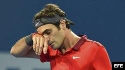 Federer pasó un susto frente al australiano John Millman.