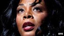 Imagen de archivo de la cantante tomadas en 2007