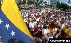 La concentración en Miami.