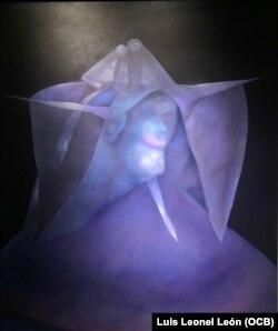 """""""Revelación"""" (1992) es una de las piezas de la exposición """"Cabezas""""."""