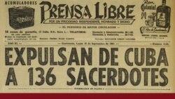 A 59 años del destierro de más de un centenar de religiosos de Cuba