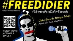Denuncian golpiza en prisión a músico contestatario