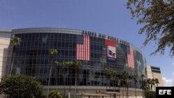 Fotografía de archivo del Tampa Bay Times forum en Tampa (EE.UU.), donde se llevará a cabo la Convención Nacional Republicana. EFE/BRIAN BLANCO
