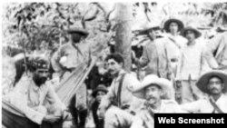 Mambises cubanos combatientes de la Guerra de Independencia