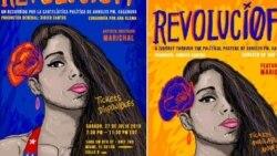 Artista Annelys C. responde a la gráfica de la Revolución cubana