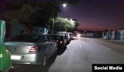 """""""La falta de combustible en Cuba continua, que nadie se engañe que todo a pasado"""", dice en Facebook Leonardo Mesa."""