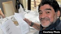 Carta de Fidel Castro Ruz a Diego Armando Maradona