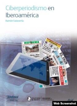 """""""Ciberperiodismo en Iberoamérica"""", varios autores. Portada."""