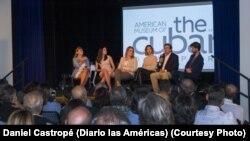 """""""Arde Latinoamérica"""", conferencia en el Museo Americano de la Diáspora Cubana."""