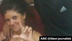 Dania Noriega, sindicalista independiente, despedida de su centro laboral debido a su activismo.