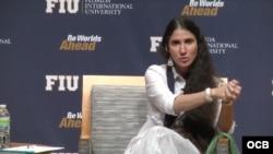 Yoani Sánchez en FIU