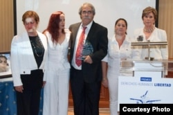 Premios ASOPAZCO 2011 Madrid (Foto Libertad Digital)