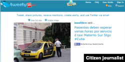 Reporta Cuba tweetymail
