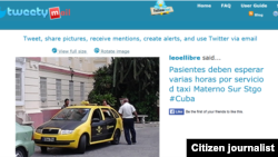 Reporta Cuba. Tweetymail.
