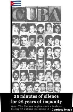 Las víctimas del Remolcador 13 de Marzo.
