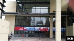 Convención demócrata en Charlotte, Carolina del Norte