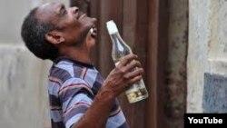 Alcoholismo un problema de la sociedad cubana
