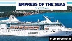 Royal Caribbean espera permisos para llevar sus cruceros a Cuba.