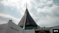 Imagen de archivo de la Ermita de la Caridad del Cobre en Miami (Florida). EFE/SOL CARRERAS/ARCHIVO